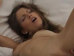 Porno: Prsty, Brunetky, Mladý Holky, Masturbace