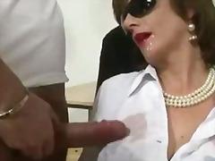 Porno: Ejakulēšana Sejā, Pusmūža Sievietes, Sievietes Dominēšana, Briti
