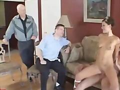 Porno: Kolmekas, Suhuvõtmine, Pornostaar, Suhuvõtmine
