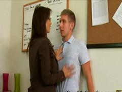 جنس: زبار, كعوب, في المكتب, بزاز