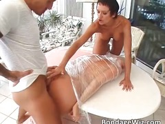 Horny blonde gets her wet pussy fucked part5