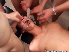Porno: Gangbang, Orģijas, Grupas, Ejakulācijas Tuvplāns
