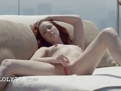 Red luxury summer pussy rubbing