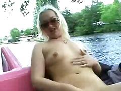 Porn: सुनहरे बाल वाली, खुले में, कामोत्तेजक