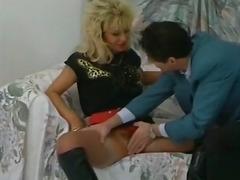 Porn: Penis, V Najlonkah, Rjavolaska, Trojček