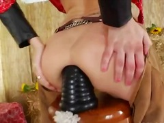 Porno: Brutale, Threesome, Kari, Thithje
