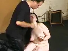 Chick masturbated around the rubber toy and humiliated