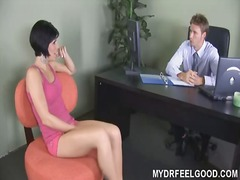 Porno: Sofa, Brunetter, Bryster, Teenager