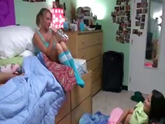 Porn: Študentka, Kolidž