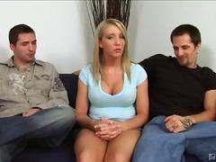 Porno: 1 Žena 2 Muži, Blondínky, Pornohviezdy, Dievčatá