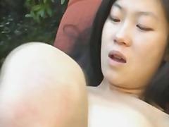 Porno: Masturbacija, Solo, Japonės, Su Pirštu