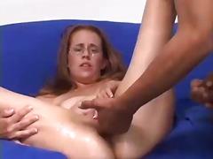 Porno: Dziļā Rīkle, Orgasms, Pirksti Pežā, Ejakulēšana Sejā