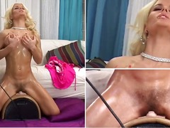 Incredibly gorgeous blondevictoria rush from the