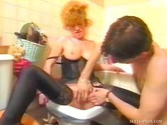 Pornići: Čipkaste Gaćice, Par, Pičić, Oralni Seks