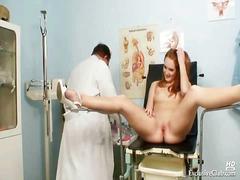 جنس: في الشغل, طبيب النساء, كاميرا حية, منظار
