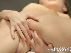 Porno: Subrendusios, Paaugliai, Su Pirštu, Masturbacija