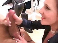 Порно: Кур, Рачна Работа, Сопруга, Мамење