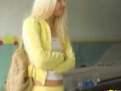 Porn: किशोरी, सुनहरे बाल वाली, लाल सिर वाला