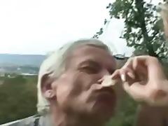 Porno: Yaşlı, Kişi, Döşlər, Kürən