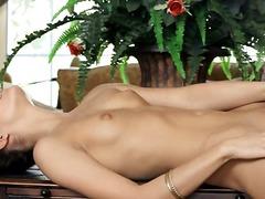 ಪೋರ್ನ್: ಯೋನಿಯ ತುಟಿ, ಕಂದು ಕೂದಲಿನ ಸುಂದರಿ