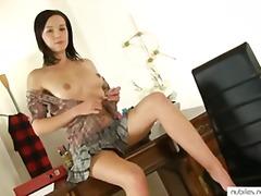 Porno: Stydlivý, Mladý Holky, Sólo, Masturbace