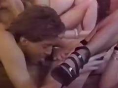 Porn retro party fucking around lavish peak