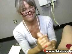 Porno: Dráždenie, Vyhonenie, Z Pohľadu Účastníka, Staršie Ženy