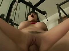 Porno: Ilusad Suured Naised, Brünetid, Rusikaga, Tussu
