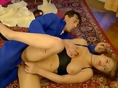 Porr: Porrstjärna, Lesbisk, Vintage, Ansiktsprut
