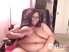 Porn: वेब कैमरा, खूबसूरत विशालकाय महिला