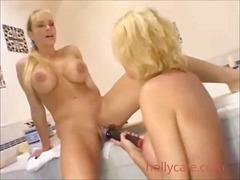 Porn: Milf, Lezbijka, Velike Joške, Dildo