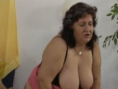 Nasty old whore goes crazy getting part3
