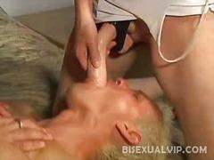 Porno: Trojka, Bisexuálové, Dvojitá Penetrace, Paničky