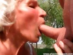 جنس: مص, خارج المنزل, مسنات