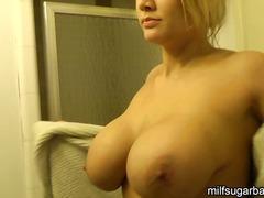 Porn: Mamãe Sexy, Esposa, Chuveiro, Loura