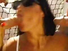Porno: Spermos Šaudymas, Vojaristai, Veido Dulkinimas, Kalės