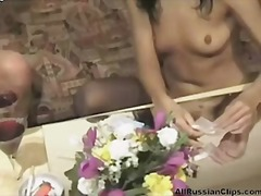 Porno: Russisk, Lesbisk, Tenåring, Dildo