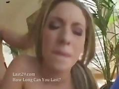 پورن: پستون گنده, مو بور