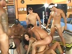 Porno: Qrup, Darmadağın, Yığıncaq, Brazilyalı