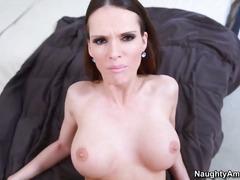 Porno: Ejakulēšana Sejā, Pornozvaigznes, Dabiskās Krūtis, Drāziens