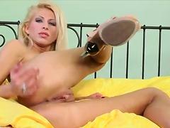 Porno: Masturbācija, Blondīnes, Solo, Maksts