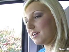 Porn: Blondinka, Potrebna, Avtomobil
