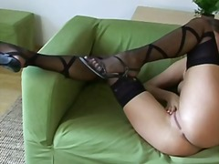 Porno: Garās Zeķes, Solo, Rotaļlietas, Masturbācija