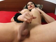 Porno: Sólo, Masturbácia, Brunetky, Shemale