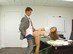 Porn: बालों वाली, काम, कार्यालय, पिछ्वाड़ा