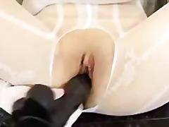 Porn: V Najlonkah, Rjavolaska, Hlačne Nogavice, Sprevrženo