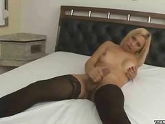 Porno: Sólo, Masturbácia, Blondínky, Shemale
