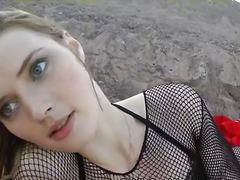 Porno: Ekstreemne, Tüdruk, Sügav, Õues