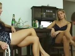 جنس: نساء مسيطرات, حب الأرجل, فتشية