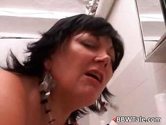 Porno: Maksts, Pusmūža Sievietes, Orālais Sekss, Ejakulācijas Tuvplāns